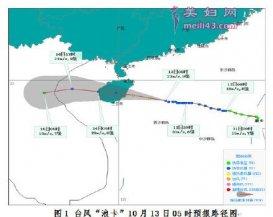 2020琼海台风最新消息天气预报:浪卡影响有强风雨天气