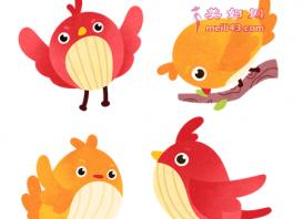 四只小鸟童话故事