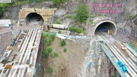 全长3287米!云南大戛高速最后一座隧道顺利贯通