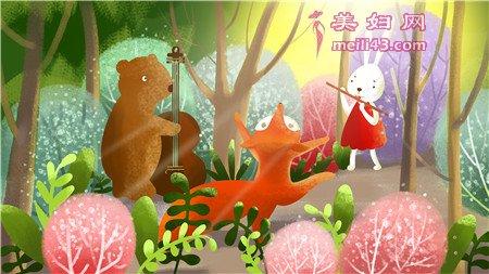 小棕熊的生日故事