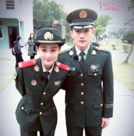 张馨予男友身份疑似曝光 对方为武警指战员