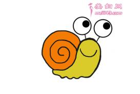 挥着翅膀的蜗牛儿童故事