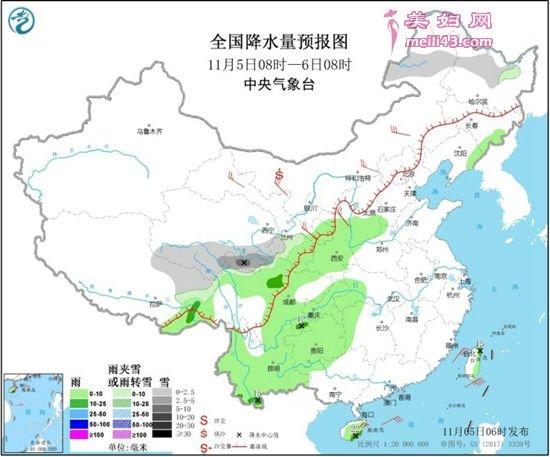 冷空气频繁影响北方气温起起伏伏 中东部雨水稀少