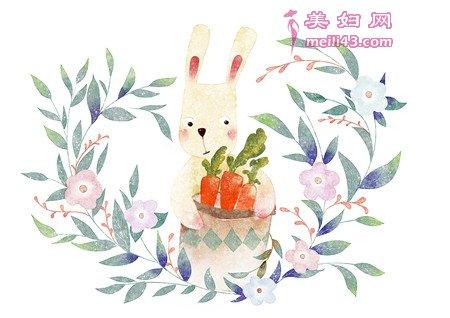 懒惰的兔子童话故事