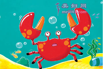 小螃蟹找工作的故事文字